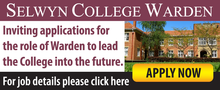 Selwyn College Warden role