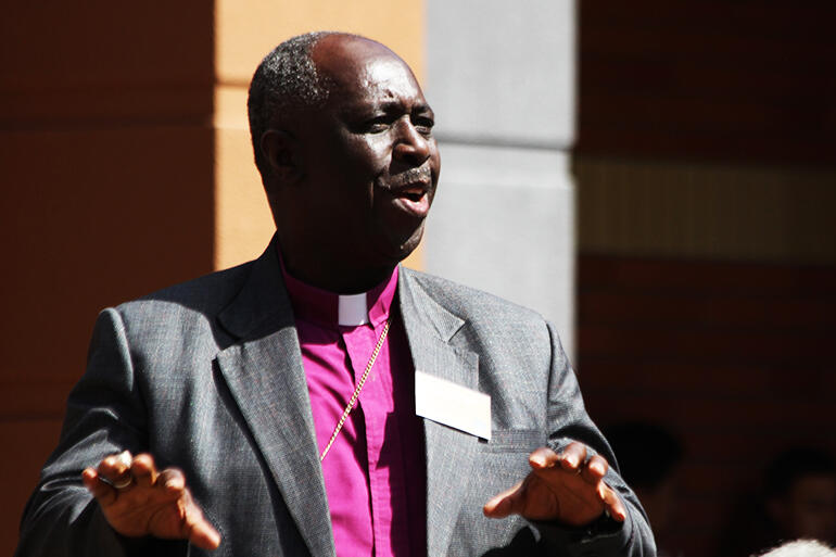 Bishop Sadock Makaya, of the Diocese of Western Tanganyika.