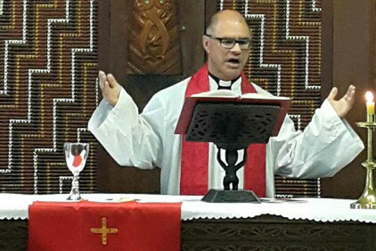 Rev Dr Paul Reynolds, who is the Anglican Social Justice co-ordinator, and Social Justice Kaihautu for Te Upoko o Te Ika.