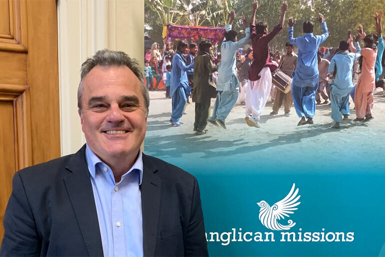 The Archbishops have appointed Michael Hartfield as the new Director of Anglican Missions.