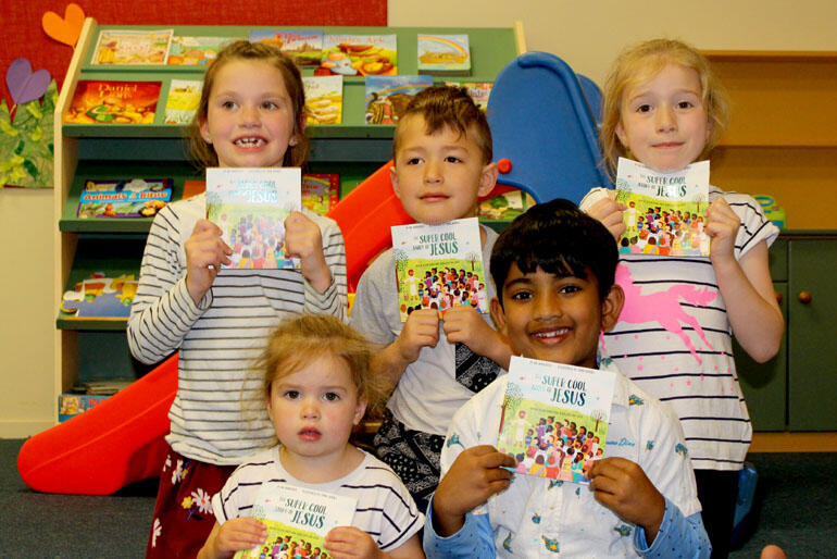 Kids at Lower Hutt's Hope Centre reviewed 'The Super Cool Story of Jesus' and loved it!