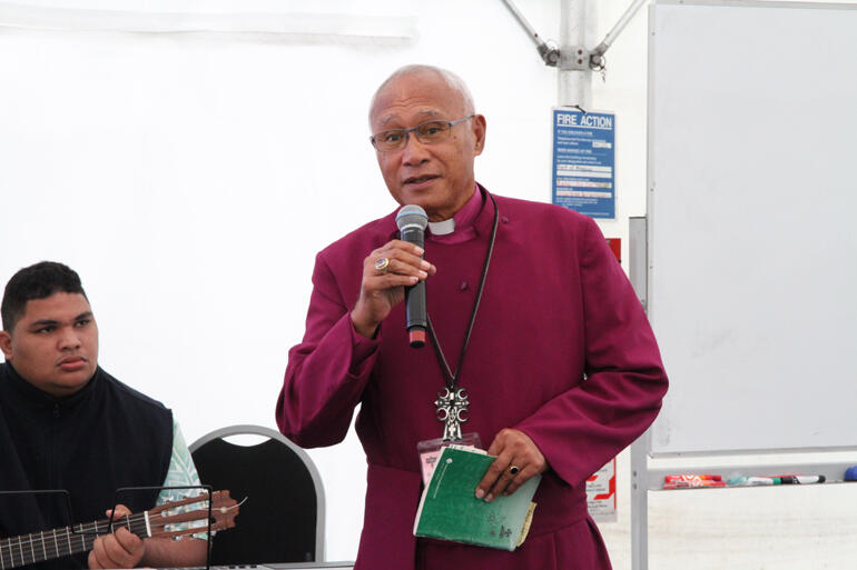 "Archbishop Winston: ""Climate change is here, business as usual is over."""