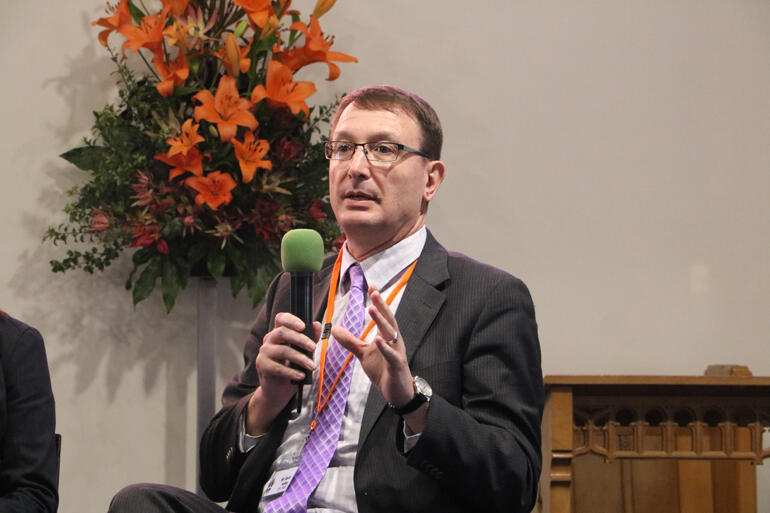 Church Property Trustees manager Gavin Holley answers synod members' questions on the details of each cathedral option.
