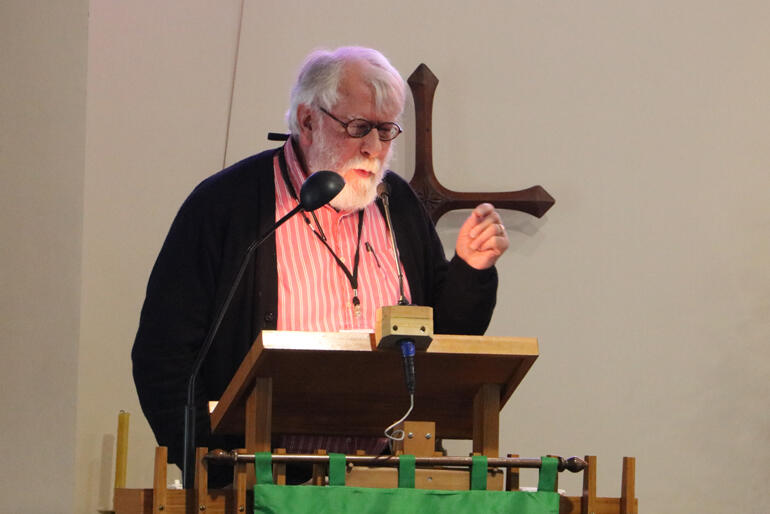 Rev Bryden Black challenged synod to consider the church's liability in the reinstatement project.