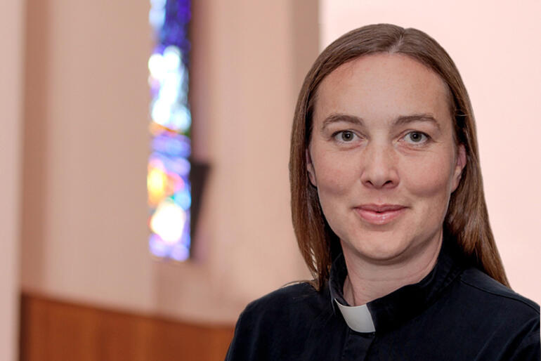 The Rev Canon Dr Ellie Sanderson - who has been elected as the Assistant Bishop of the Diocese of Wellington.