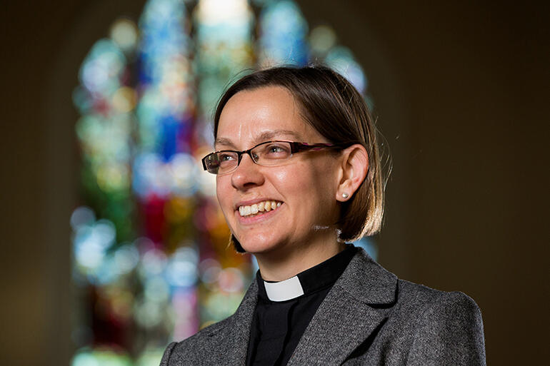 The Rev Dr Helen-Ann Hartley, the next Bishop of Waikato. Photos by Stephen Barker.