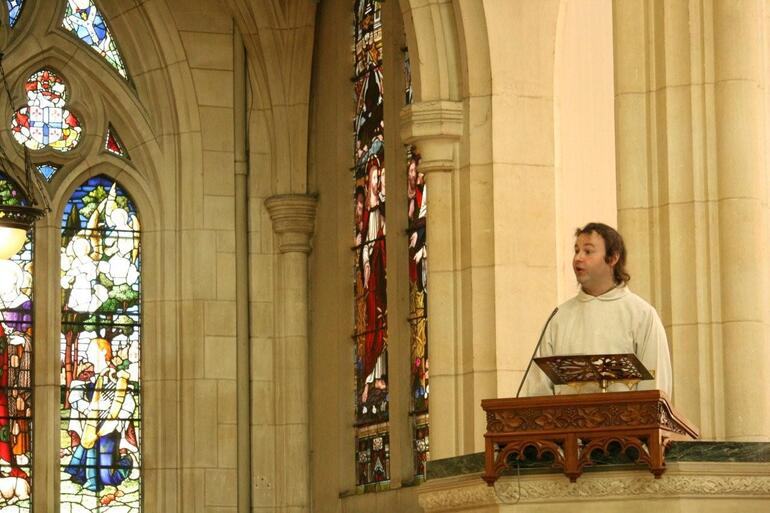 Alan Firth, a layman from St John's Roslyn, preached the ordination sermon.