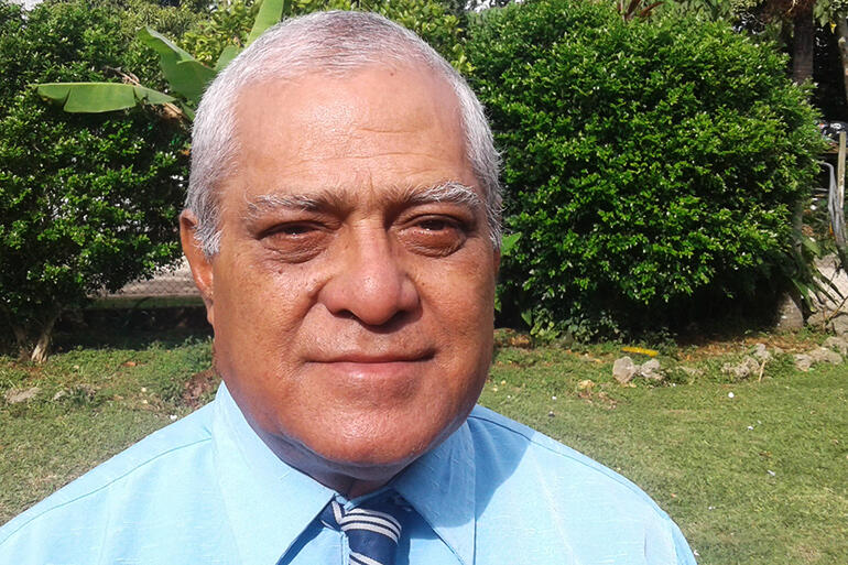 Bishop-elect 'Afa Vaka - who has been chosen to become the first bishop of the newly-constituted episcopal unit of Tonga.