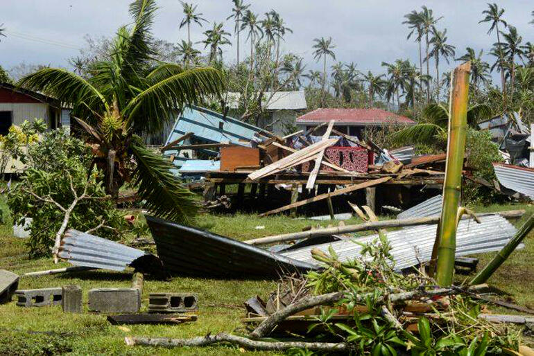 Cyclone Winston leaves widespread damage across the Fiji Islands. Photo: ABC News.