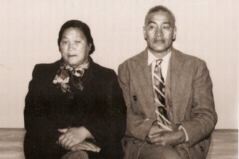 Kapuatere and Reihana Poa, who were Sonny's mum and dad, and Colenso and May's grandparents.