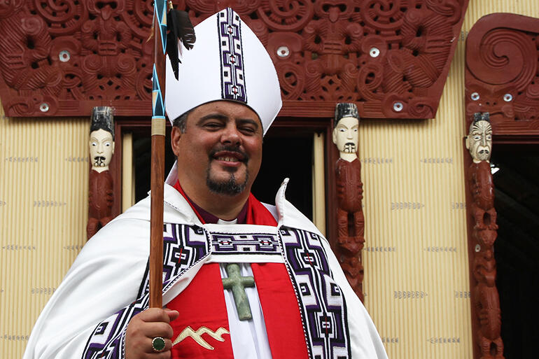 Bishop Don Tamihere - soon to be installed as Pihopa o Aotearoa and Archbishop.