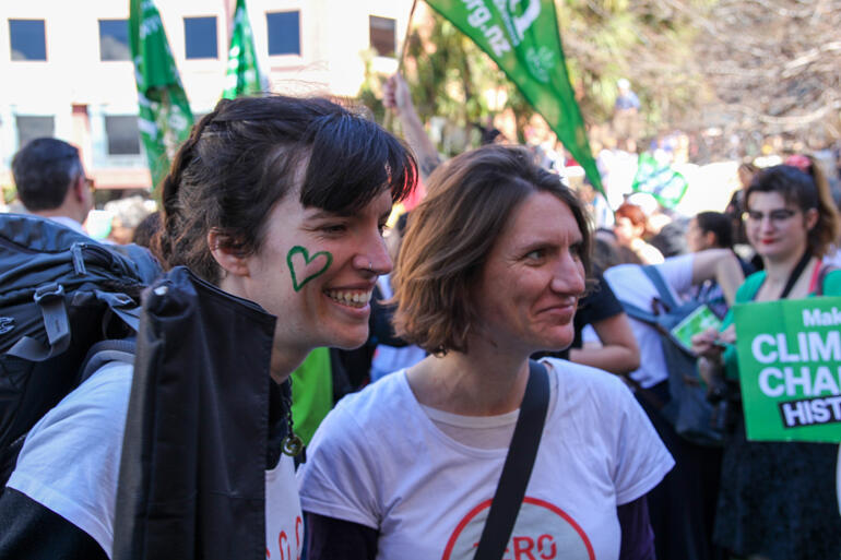 The Diocese of Wellington's climate advocacy frontline: Elise Ranck and Kate Day