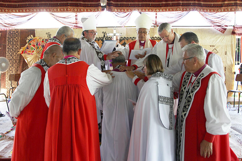 The still point of the turning circle - the moment of ordination.