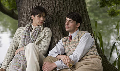 Scene from Brideshead Revisited. A clash of class and religion.